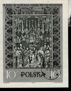 Polen Block 23  Veit Stoß Altar Krakau Used Gestempelt (2) - Blocks & Sheetlets & Panes