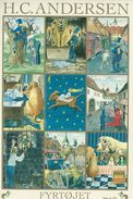 Sticker Card.  Fairytales. The Tinder Box   H.C. Andersen. Denmark  H-1150 - Contes, Fables & Légendes