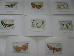 Congo-1999-fauna-insects-butterflies-MI.1617-24 - Postzegels