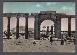 SYRIE SIRIA PALMYRA Temple Of Ba'al Before Complete Distruction FG NV SEE 2 SCANS - Siria