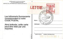France LSA ATM Prototype CROUZET LS07 92050 SPECIMEN SICOB 26 Septembre 1981 Fluorescent - 1981-84 LS & LSA Prototypen