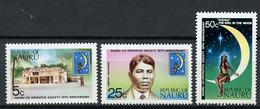 1973 - NAURU - Catg. Mi. 102/104 - NH - (R-SI.331.713 -  54) - Nauru