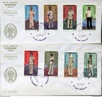24546 Somalia, 2 Fdc 1983 Military Air Force  Police - Somalië (1960-...)