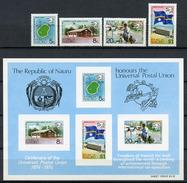 1974 - NAURU - Catg. Mi. 111/114 + BL 1 - NH - (R-SI.331.713 -  54) - Nauru