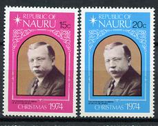 1974 - NAURU - Catg. Mi. 115/116 - NH - (R-SI.331.713 -  54) - Nauru