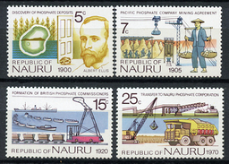 1975 - NAURU - Catg. Mi. 117/120 - NH - (R-SI.331.713 -  54) - Nauru