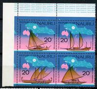 1975 - NAURU - Catg. Mi. 121/124 - NH - (R-SI.331.713 -  54) - Nauru