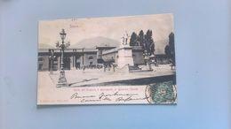 CARTOLINA SPEZIA - PORTA DELL'ARSENALE E MONUMENTO AL GENERALE CHIODO - La Spezia