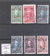 Congo Belge : N ° 162/67 Oblitérés  Cote COB : 13,00 €. - 1923-44: Oblitérés