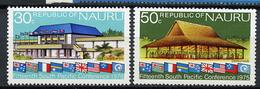 1975 - NAURU - Catg. Mi. 125/126 - NH - (R-SI.331.713 -  54) - Nauru