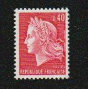 Frankreich 1967-69 Yvert 1536B B ** NsC Tropengummi, Gomme Tropical, Michel 1650 I X Ohne Phosphorstreifen - Frankreich