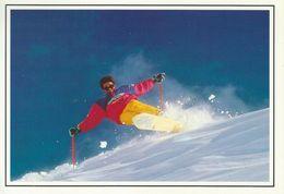 Skiing  France.  Sent To Denmark 1992   # 04592 - Winter Sports