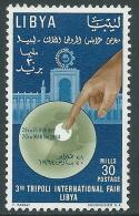 1964 REGNO UNITO DELLA LIBIA FIERA DI TRIPOLI 30 M MNH ** - Z22-8 - Libya