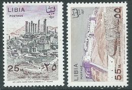 1966 REGNO UNITO DELLA LIBIA MONUMENTI DEL FEZZAN MNH ** - Z22-8 - Libya