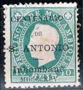 Inhambane, 1895, # 2 Dent. 12 1/2, Used - Inhambane