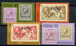1976 - NAURU - Catg. Mi. 135/138 - NH - (R-SI.331.713 -  54) - Nauru