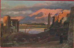 Egypte Egypt Ägypten Egipto Egitto Illustrator Illustrateur Unknown Luxor Und Die Bergen Von Theben - Cairo