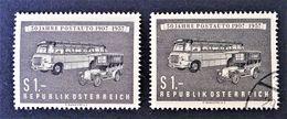 POSTE AUTOMOBILE 1957 - NEUF * + OBLITERE - YT 867 - MI 1034 - 1945-.... 2nd Republic