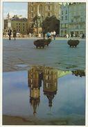 Cracow - Market Square.  Poland    Sent To Denmark.  # 07095 - Poland