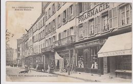 CARTE POSTALE   CHERBOURG 50  Rue Du Bassin - Cherbourg