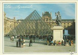 Museé Du Louvre. La Pyramide.     Sent To Denmark.  # 07096 - Museum