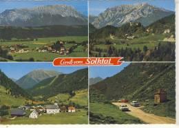 Gruß Vom SLÖLKTAL, Mehrfachansicht M. Stein A.d. Enns, St. Nikolai, Sölkpaß - Österreich