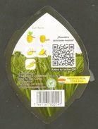 # PINEAPPLE DULCISSIMA Size 7 Type 2 (Back Modified) Fruit Tag Balise Etiqueta Anhanger Ananas Pina Costa Rica - Fruits & Vegetables