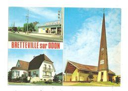 Bretteville-sur-Odon-Son Eglise Moderne--(C.565) - Francia