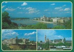 Hungary - Budapest Views.  Sent To Denmark.  # 07098 - Hungary
