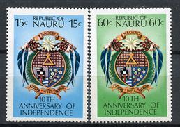1978 - NAURU - Catg. Mi. 156/157 - NH - (R-SI.331.713 -  55) - Nauru