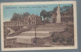 CPA1251 HAUTE GARONNE MURET Monument Ader Ecole Des Filles Mairie - Muret