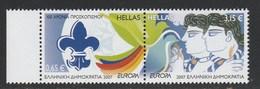 "Greece / Grece / Griechenland / Grecia 2007 Europa CEPT - ""Scouts - Scouting"" Set MNH W0559 - Europa-CEPT"
