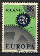 ISLANDA - 1967 - EUROPA UNITA - USATO - 1944-... Republik