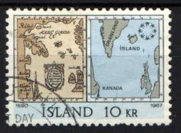 """ISLANDA - 1967 - """"EXPO '67"""" - ESPOSIZIONE INTERNAZIONALE DI MONTREAL - USATO - 1944-... Republik"""