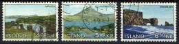 ISLANDA - 1966 - PAESAGGI COSTIERI: MYVATN, BULANDSTINDUR, DYRHOLAEY - USATI - 1944-... Republik