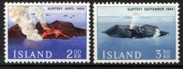 ISLANDA - 1965 - NASCITA DELL'ISOLA VULCANICA SURTSEY A SUD DELL'ISLANDA - USATI - 1944-... Republik