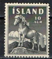 ISLANDA - 1958 - PONY D'ISLANDA - 10 A. - USATO - 1944-... Repubblica