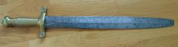 GLAIVE D'INFANTERIE MODELE 1831 MONTURE EN LAITON - Armes Blanches