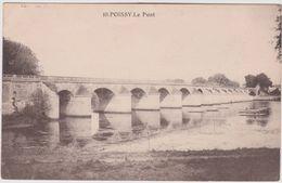 Yvelines :  POISSY  Le  Pont - Poissy