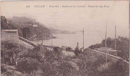 Var :  TOULON Mourillon ,  BD  Du Littoral , Pointe  Du  Cap Brun   1923 - Toulon