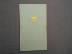 Trouwboekje Huwelijksboekje GrembergenRichard Van Damme Denderbelle Louisa Buggenhoud Grembergen 1969 - Unclassified