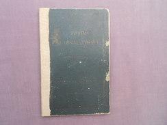 Trouwboekje Huwelijksboekje Petrus De Smet Dendermonde Augusta Verriest 1926 - Unclassified