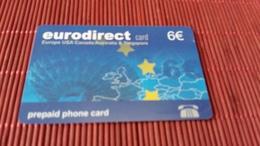 Prepaidcard Euro Direct Used - Non Classés