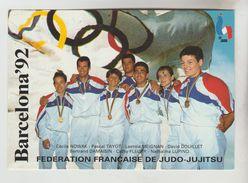 CPM SPORTS JUDO JIU JITSU - Barcelone 92 Les Médaillés - Martiaux