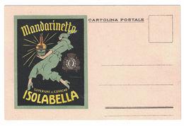 CARTOLINA POSTALE PUBBLICITARIA MANDARINETTO ISOLABELLA  ILLUSTRATORE MARCELLO DUDOVICH - Publicité