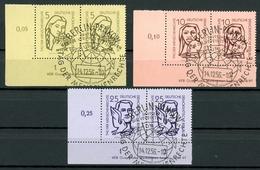 DDR MiNr. 548-50 Y I DV Sonderstempel (DD340 - Abarten