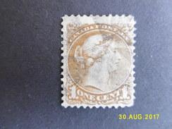 CANADA, Année 1868-90, YT N° 18 Oblitéré, Sur Charnière (cote 60 €) - 1851-1902 Regno Di Victoria