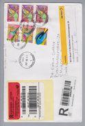 Südafrika 2007-06-01 Elim Hospital R-Brief Nach 4011 Basel 11 Bachletten Abholetikette! Blindenverein - Afrique Du Sud (1961-...)