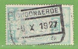 MiNr.E2 O Belgien Eisenbahnpaketmarken - Bahnwesen