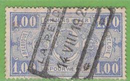 MiNr.E6 O Belgien Eisenbahnpaketmarken - Gebraucht